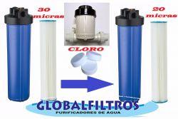 Conjunto Para Tratamento De Água Da Chuva Globalfiltros 6000