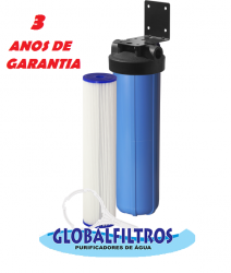 Filtro De Saída Poço Artesiano Retenção Areia Grossa Gbf6000 30 Micras