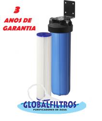 Filtro Saída Poço Artesiano Para Retenção Areia Fina Gbf6000 20 Micras