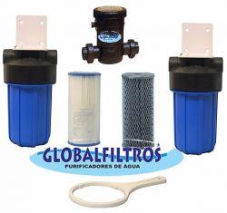 Conjunto Tratamento De Água GBF 4200  L/H (Coliformes - Ferro - Escherichia coli)