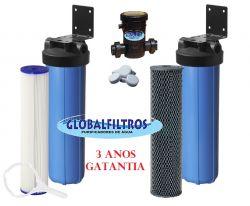 Conjunto Tratamento De Água GBF 6000 L/H (Coliformes - Ferro - Escherichia coli)