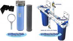 Conjunto para Tratamento Ferro na Água Globalfiltros 6000