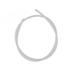 "Mangueira Fina Branca PEBD 1/4"" (4,35 x 6,35mm)"