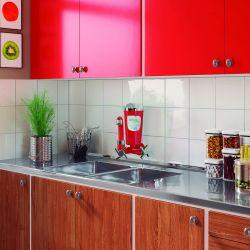 Purificador de Água Ideale Eco Vermelho / Cromado Parede