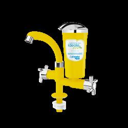 Purificador de Água de Bancada Ideale Eco Amarelo/ Cromado