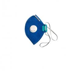 Kit 10 Máscara Respirador Descartável Pff2-v N95 Tem Inmetro ( COM RESPIRADOR )